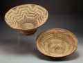 American Indian Art:Baskets, Two Southwest Coiled Basketry Items ... (Total: 2 )