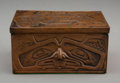 American Indian Art:Wood Sculpture, A Northwest Coast Copper Box ...