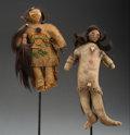 American Indian Art:Beadwork and Quillwork, Two Plains Dolls ... (Total: 2 )