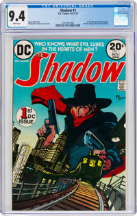 The Shadow #1 (DC, 1973) CGC NM 9.4 White pages
