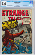 Silver Age (1956-1969):Adventure, Strange Tales #84 (Marvel, 1961) CGC FN/VF 7.0 Off-white to white pages....