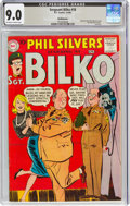 Silver Age (1956-1969):Humor, Sgt. Bilko #18 Bethlehem Pedigree (DC, 1960) CGC VF/NM 9.0 Off-white to white pages....