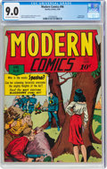 Golden Age (1938-1955):Adventure, Modern Comics #96 (Quality, 1950) CGC VF/NM 9.0 Off-white to white pages....