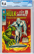 Silver Age (1956-1969):Superhero, Tales to Astonish #93 (Marvel, 1967) CGC NM+ 9.6 White pages....