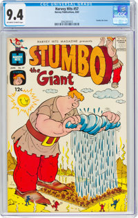 Harvey Hits #57 Stumbo the Giant (Harvey, 1962) CGC NM 9.4 Off-white to white pages