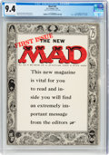 Magazines:Mad, MAD #24 (EC, 1955) CGC NM 9.4 Off-white to white pages....