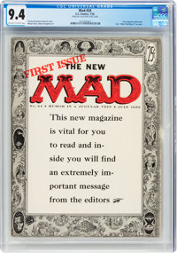 MAD #24 (EC, 1955) CGC NM 9.4 Off-white to white pages