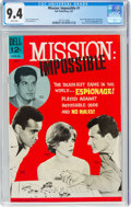 Silver Age (1956-1969):Adventure, Mission: Impossible #1 (Dell, 1967) CGC NM 9.4 White pages....