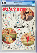 Magazines:Miscellaneous, Playboy V2#2 (HMH Publishing, 1955) CGC FN 6.0 Off-white to white pages....