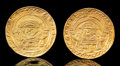 Pre-Columbian:Metal/Gold, A Pair of Gold Lambayeque Ear Spools... (Total: 2 )