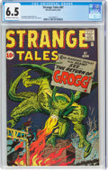 Silver Age (1956-1969):Science Fiction, Strange Tales #87 (Marvel, 1961) CGC FN+ 6.5 Off-white to white pages....