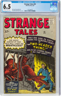 Silver Age (1956-1969):Science Fiction, Strange Tales #95 (Marvel, 1962) CGC FN+ 6.5 Off-white to white pages....