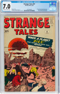Silver Age (1956-1969):Horror, Strange Tales #97 (Marvel, 1962) CGC FN/VF 7.0 Off-white to white pages....