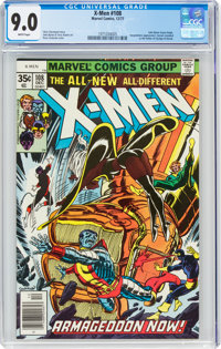 X-Men #108 (Marvel, 1977) CGC VF/NM 9.0 White pages
