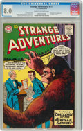 Silver Age (1956-1969):Science Fiction, Strange Adventures #117 (DC, 1960) CGC VF 8.0 Cream to off-white pages....
