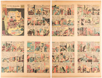 The Spirit (weekly newspaper section) 5/3/42 (Will Eisner, 1942) Condition: FN