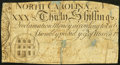 Colonial Notes:North Carolina, North Carolina March 9, 1754 30s Very Good-Fine.. ...