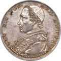 Heritage Select. 207. Italy: Papal States. Leo XII Scudo Anno III (1825)-R MS65 PCGS, Rome mint, KM1297.1, Dav-187