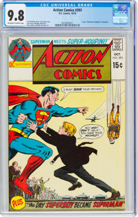 Action Comics #393 (DC, 1970) CGC NM/MT 9.8 Off-white to white pages