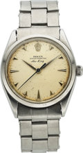Timepieces:Wristwatch, Rolex, Early Oyster Perpetual Air King, Ref. 1005, Circa 1967. ...