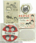 Music Memorabilia:Miscellaneous, Beatles - Miscellaneous 1960s Novelty Item Group.... (4 items)