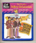 Music Memorabilia:Toys, Beatles Yellow Submarine Water Color Set (Craftmaster, 1968)....