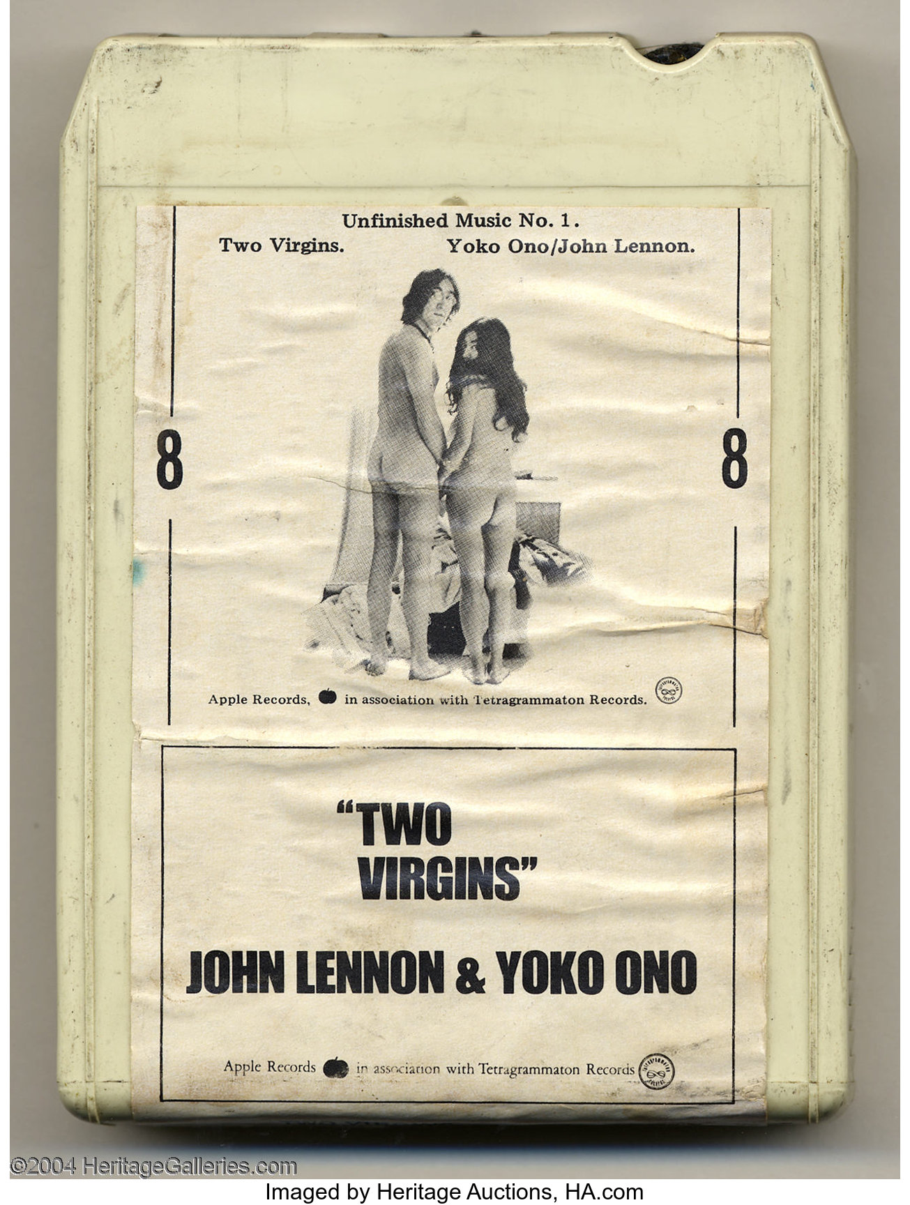 John Lennon And Yoko Ono Unfinished Music No 1 Two Virgins Lot 22635 Heritage Auctions