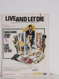 "Music Memorabilia:Miscellaneous, Paul McCartney and Wings - ""Live and Let Die"" Sheet Music (1973)...."