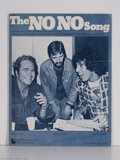 "Music Memorabilia:Miscellaneous, Ringo Starr - ""The No No Song"" Sheet Music (1975)...."