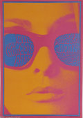 "Music Memorabilia:Posters, Chambers Brothers- Concert Poster, ""Neon Rose"" (The Matrix,1967)...."