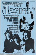 "Music Memorabilia:Posters, The Doors Handbill, ""Happening #3"" (James C Pagni Company,1968)...."