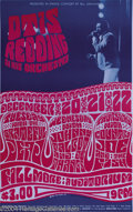 Music Memorabilia:Posters, Otis Redding and the Grateful Dead - Concert Poster (West CoastLithograph, 1966)....