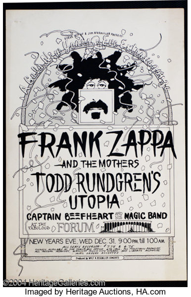 Frank Zappa and the Mothers - \