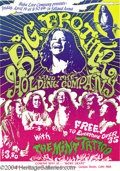 Music Memorabilia:Posters, Big Brother and the Holding Company - Music Memorabilia Handbill(Baba Love Co, 1968)....