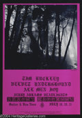 Music Memorabilia:Posters, Velvet Underground and Tim Buckley - Concert Poster (Family DogPresents, 1968)....