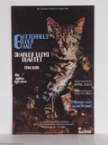 Music Memorabilia:Posters, Butterfield Blues Band - Concert Poster (Personality Posters,1968)....