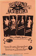 Music Memorabilia:Posters, Stevie Ray Vaughan and Double Trouble Handbill (Calico Press,1979)....