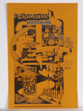 Music Memorabilia:Posters, Canned Heat - Family Dog Poster (Tea Lautrec Litho, 1968)....
