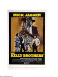Music Memorabilia:Posters, Mick Jagger: The Kelly Brothers One-Sheet Movie Poster (UnitedArtists, 1970)....