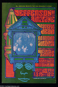 Music Memorabilia:Posters, Jefferson Airplane, the Grateful Dead, Big Brother and the HoldingCompany Posters, Hollywood Bowl (Bill Graham Presents, 1967)....