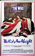 "Music Memorabilia:Posters, The Who - ""The Kids Are Alright"" Movie Poster (New World, 1979)...."