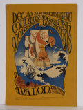 Music Memorabilia:Posters, Country Joe and the Fish - New Year's Eve Family Dog Concert Poster#41 (1966)....