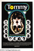 Music Memorabilia:Posters, Tommy (The Who) - Movie Poster (Columbia Pictures, 1975)....