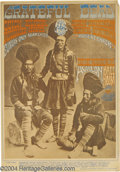 Music Memorabilia:Posters, Grateful Dead - Family Dog Concert Poster #54 -1(1967)....