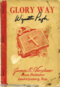 Music Memorabilia:Miscellaneous, Two Hymnals Belonging to Tammy Wynette (signed Wynette Pugh)...