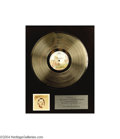 Music Memorabilia:Awards, Statler Brothers Platinum Record....