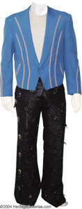 Music Memorabilia:Costumes, Tracy Lawrence Two-Piece Outfit, Hat, and ...