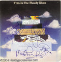 "Music Memorabilia:Autographs and Signed Items, Moody Blues ""This Is the Moody Blues"" Album (1974) and Autographs(1988 and 1994)...."