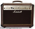 Musical Instruments:Amplifiers, PA, & Effects, Marshall AS50R Acoustic Solo Combo Amplifier signed by Jim Marshall (2000)....