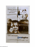 Music Memorabilia:Posters, Cometogether (Allied Artists, 1971)....